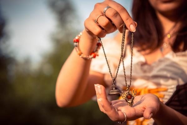 amulette de protection wicca