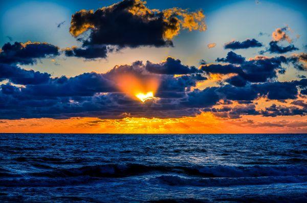 soleil nuages